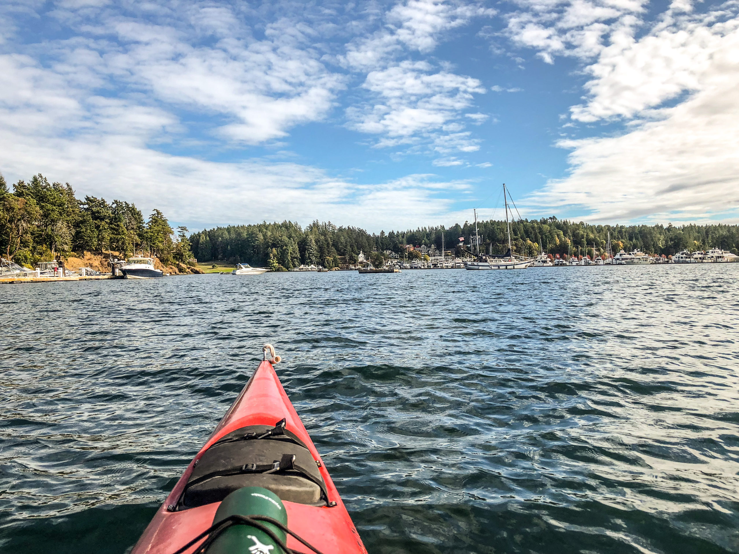Sea Kayaking in Roche Harbor