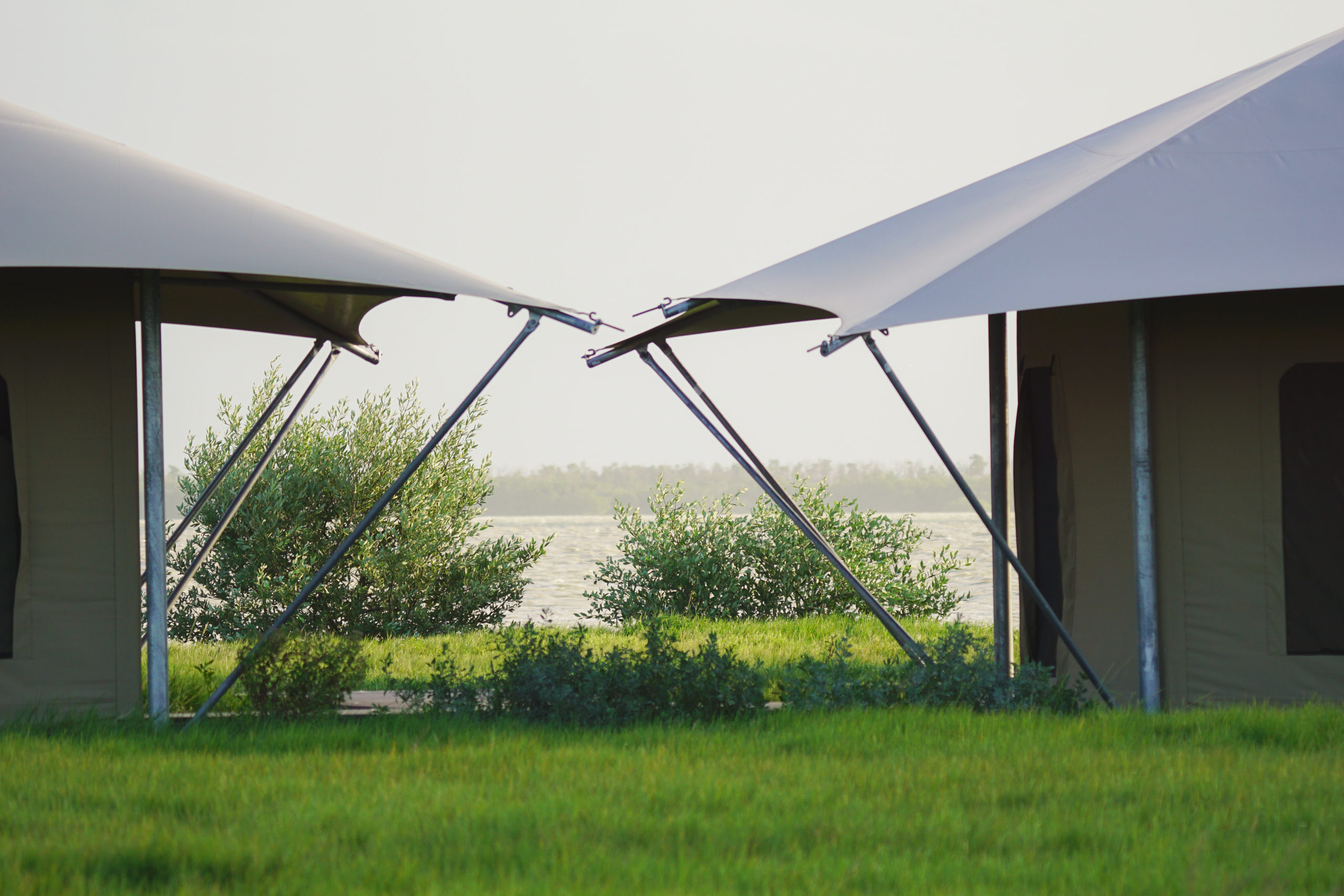 Everglades National Park Florida bay eco-tents