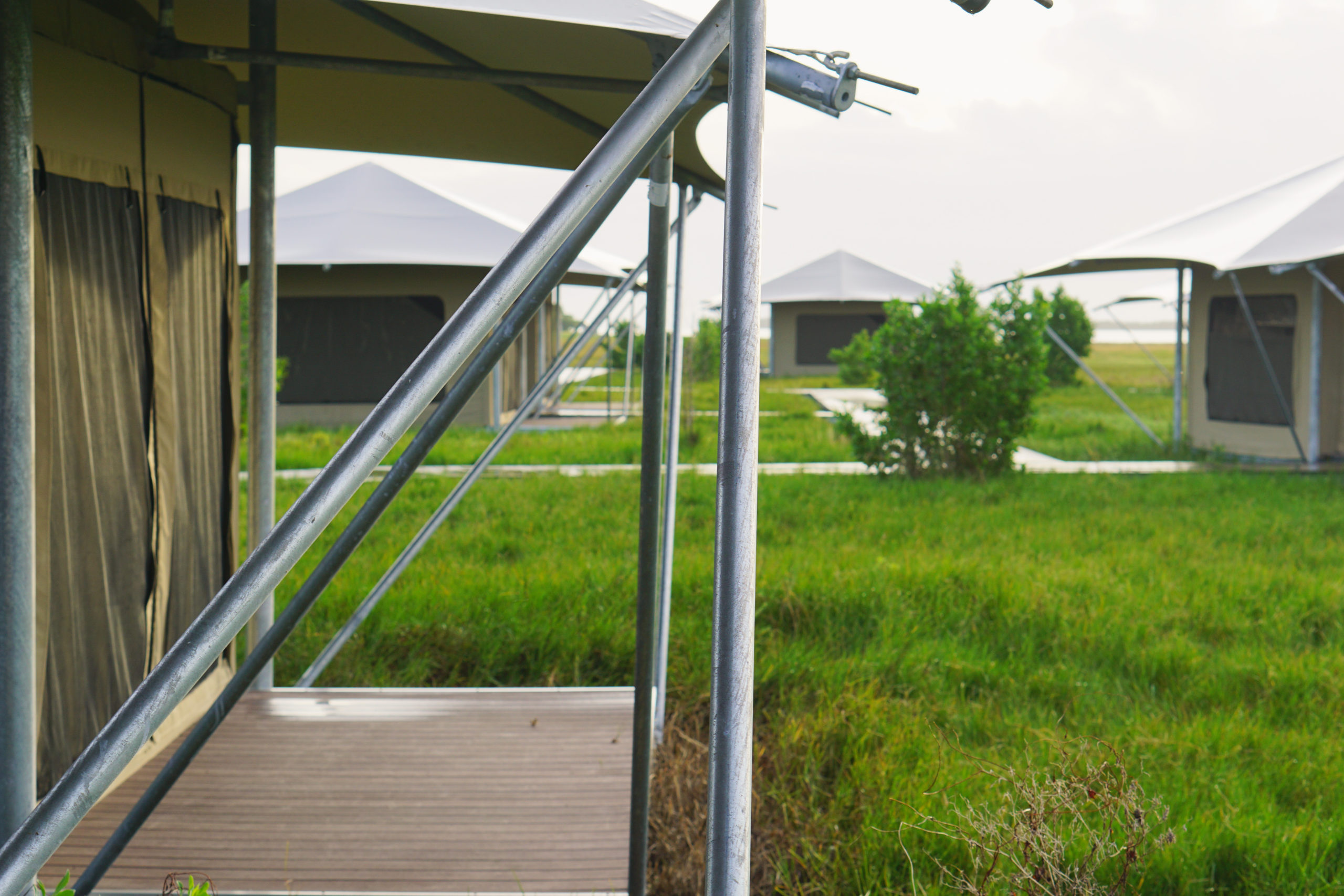 Everglades eco-tents canvas
